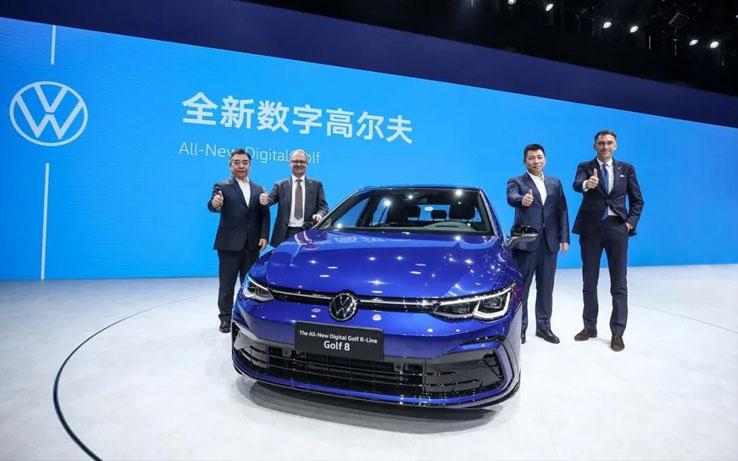 全新数字高尔夫北京车展闪耀首发 正式接受预定