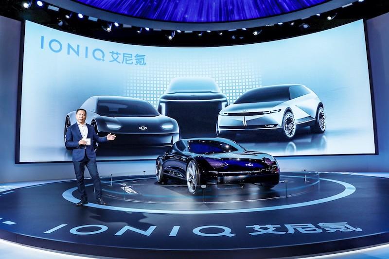 """现代汽车发布纯电品牌""""艾尼氪"""",首款车型明年亮相"""