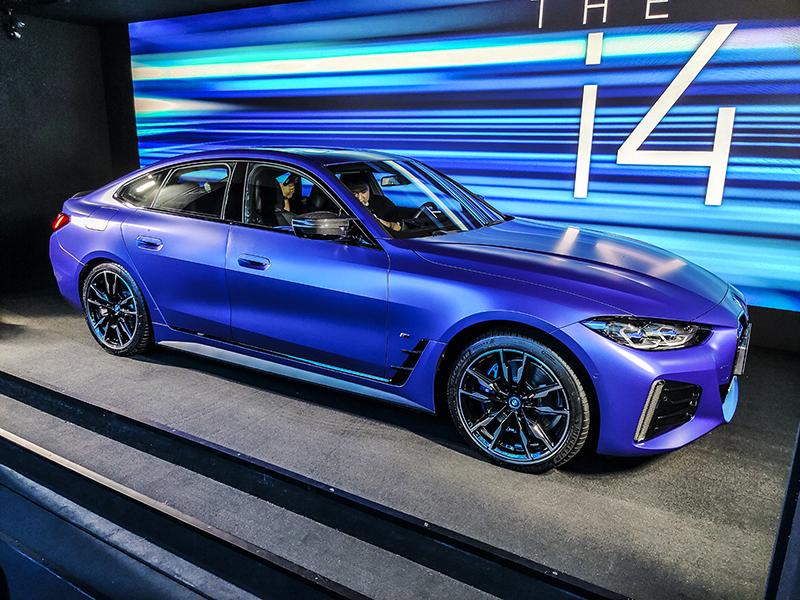 宝马i4 M50中国首秀!BMW i灵感空间北京站正式启动