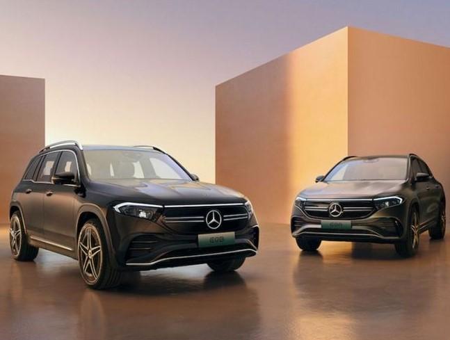 37万/44万元 梅赛德斯-EQ 2款纯电SUV开启预售